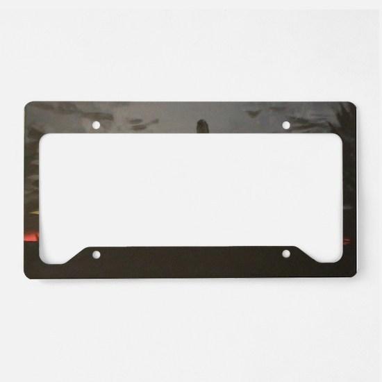 Desert Sunset License Plate Holder