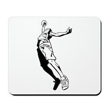 Tall Basketball Player Mousepad
