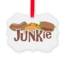 Fast Food Junkie Ornament