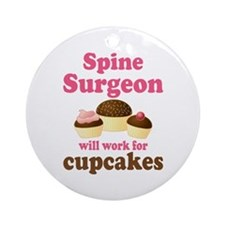 Spine Surgeon Ornament (Round)