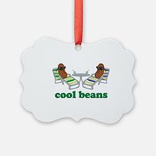 Cool Beans Ornament