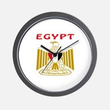 Egypt Coat of arms Wall Clock