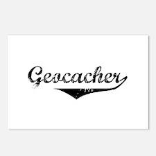 Geocacher in Script Postcards (Package of 8)