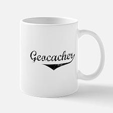 Geocacher in Script Mug