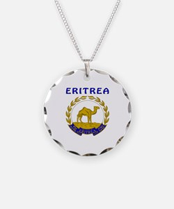 Eritrea Coat of arms Necklace