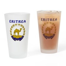 Eritrea Coat of arms Drinking Glass