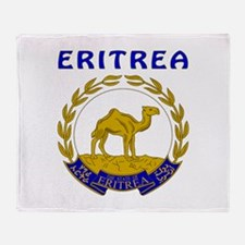 Eritrea Coat of arms Throw Blanket