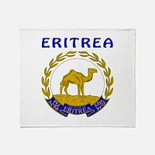 Eritrea Coat of arms Throw Blanket