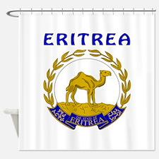 Eritrea Coat of arms Shower Curtain