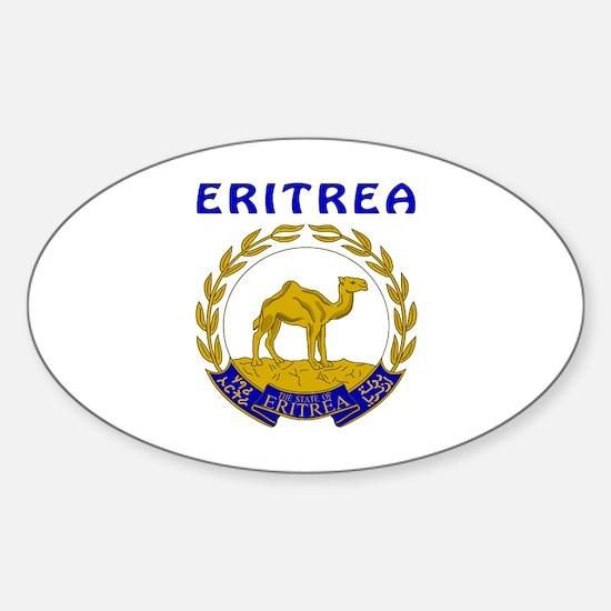 Eritrea Coat of arms Sticker (Oval)