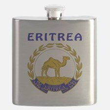 Eritrea Coat of arms Flask