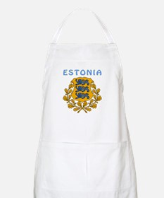 Estonia Coat of arms Apron