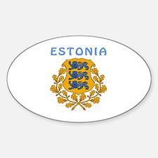 Estonia Coat of arms Decal