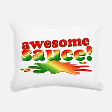 Awesome Sauce Rectangular Canvas Pillow