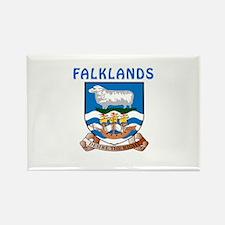 Falklands Coat of arms Rectangle Magnet