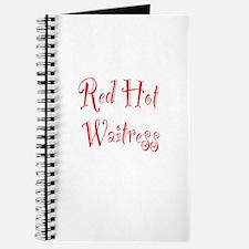 Red Hot Waitress Journal