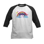 100th Day Of School Sun Kids Baseball Jersey