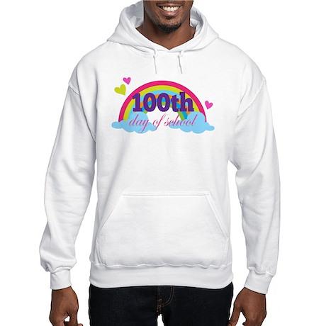 100th Day Of School Sun Hooded Sweatshirt