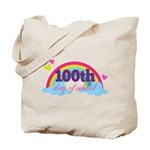 100th Day Of School Sun Tote Bag