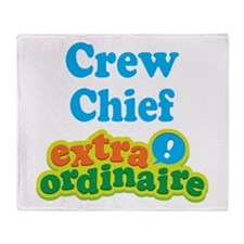 Crew Chief Extraordinaire Throw Blanket