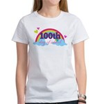 100th Day Of School Rainbow Women's T-Shirt