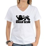 Ragga Scum Women's V-Neck T-Shirt