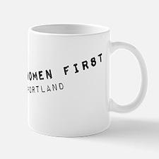 Women First Mug