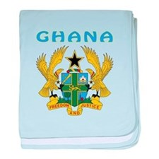Ghana Coat of arms baby blanket