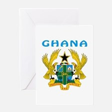 Ghana Coat of arms Greeting Card