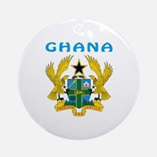 Ghana Coat of arms Ornament (Round)