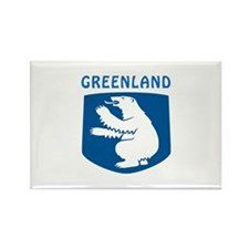 Greenland Coat of arms Rectangle Magnet