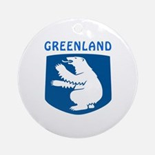 Greenland Coat of arms Ornament (Round)