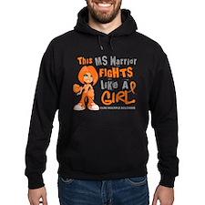 Fights Like a Girl 42.9 MS Hoodie