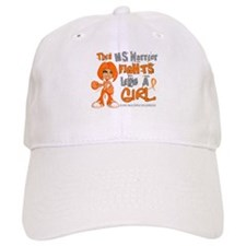 Fights Like a Girl 42.9 MS Baseball Cap