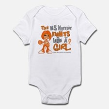 Fights Like a Girl 42.9 MS Infant Bodysuit