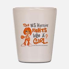 Fights Like a Girl 42.9 MS Shot Glass