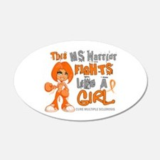 Fights Like a Girl 42.9 MS Wall Decal