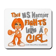 Fights Like a Girl 42.9 MS Mousepad