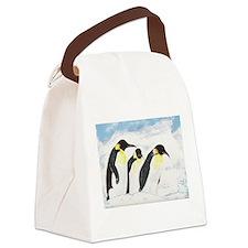 Penguins.jpg Canvas Lunch Bag