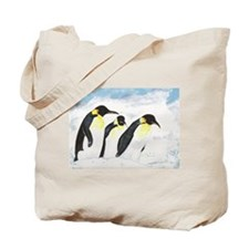 Penguins- God's Creatures Tote Bag