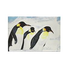 Penguins- God's Creatures Rectangle Magnet