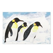 Penguins- God's Creatures Postcards (Package of 8)