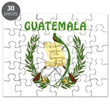 Guatemala Coat of arms Puzzle