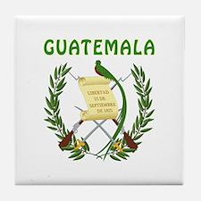 Guatemala Coat of arms Tile Coaster
