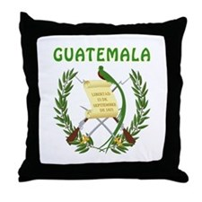 Guatemala Coat of arms Throw Pillow