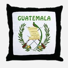 Guatemala Coat of arms Throw Pillow