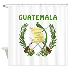 Guatemala Coat of arms Shower Curtain