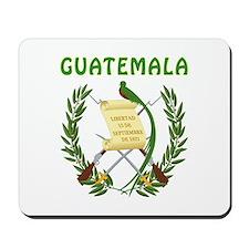 Guatemala Coat of arms Mousepad