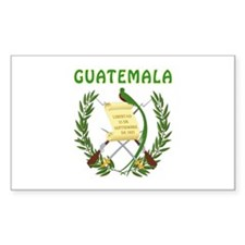 Guatemala Coat of arms Decal