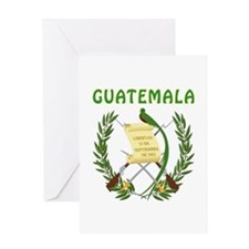 Guatemala Coat of arms Greeting Card